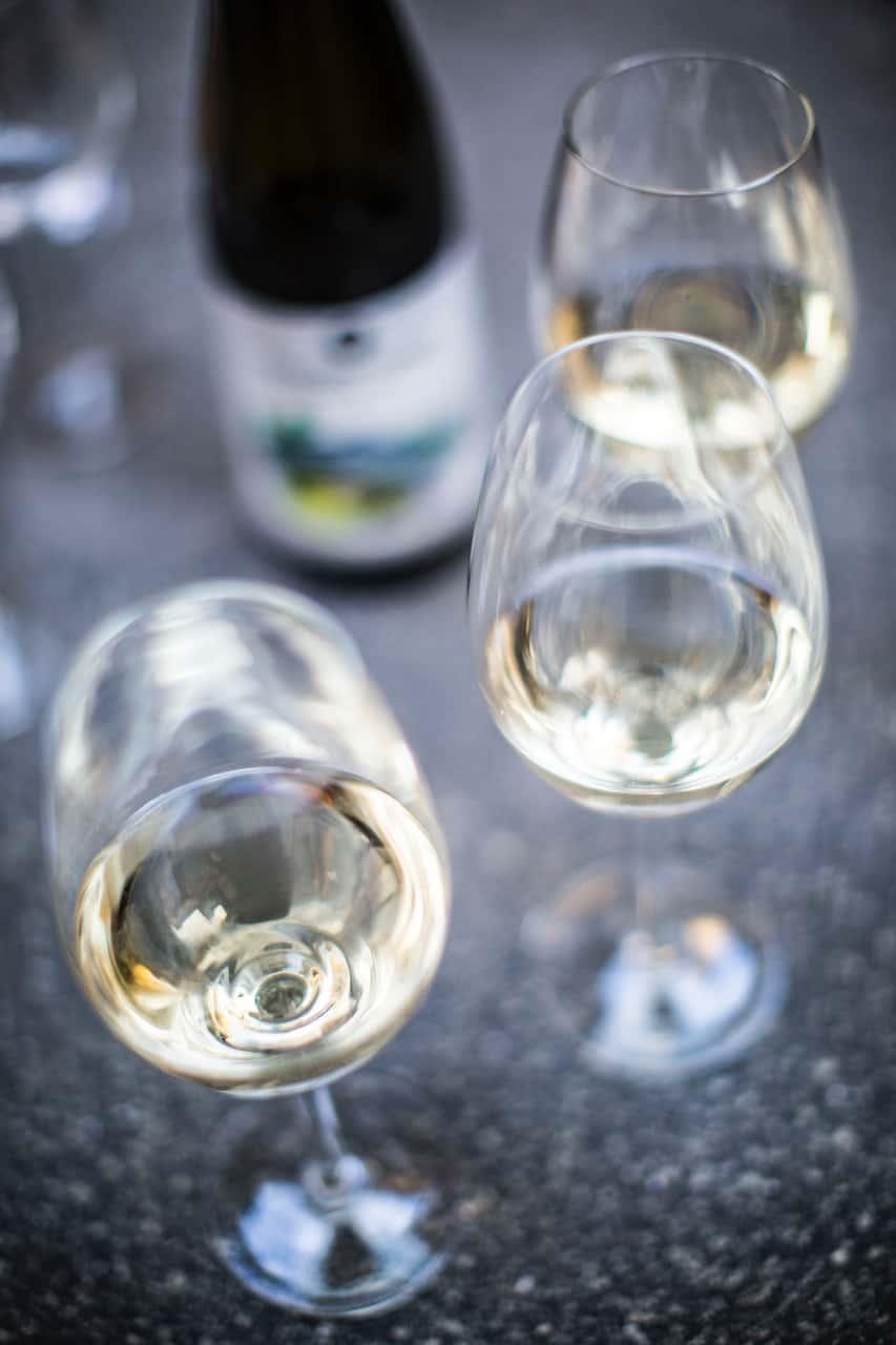 Ett axplock av typiska vita viner från hela världen