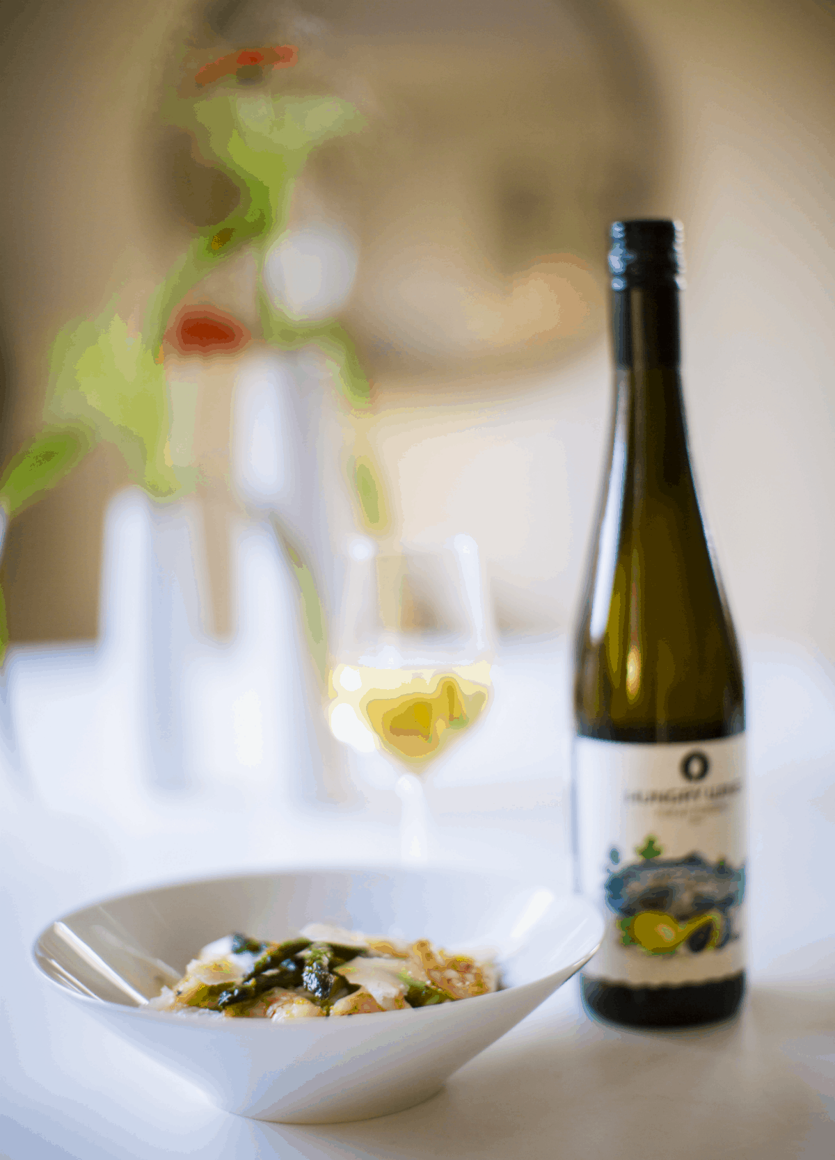 What about a seafood risotto with some crisp white wine?