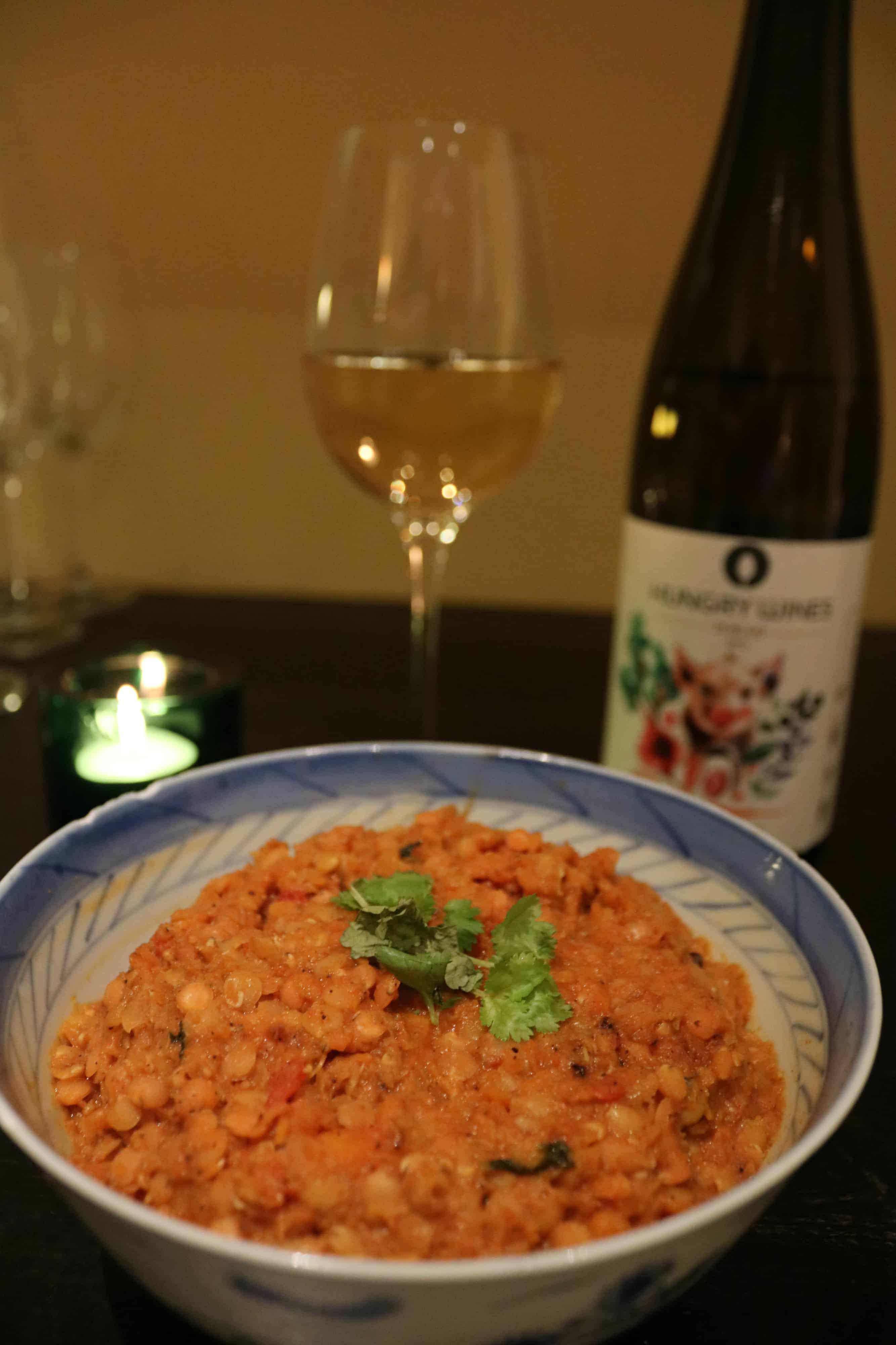 Hungry Wines Dhal-gryta