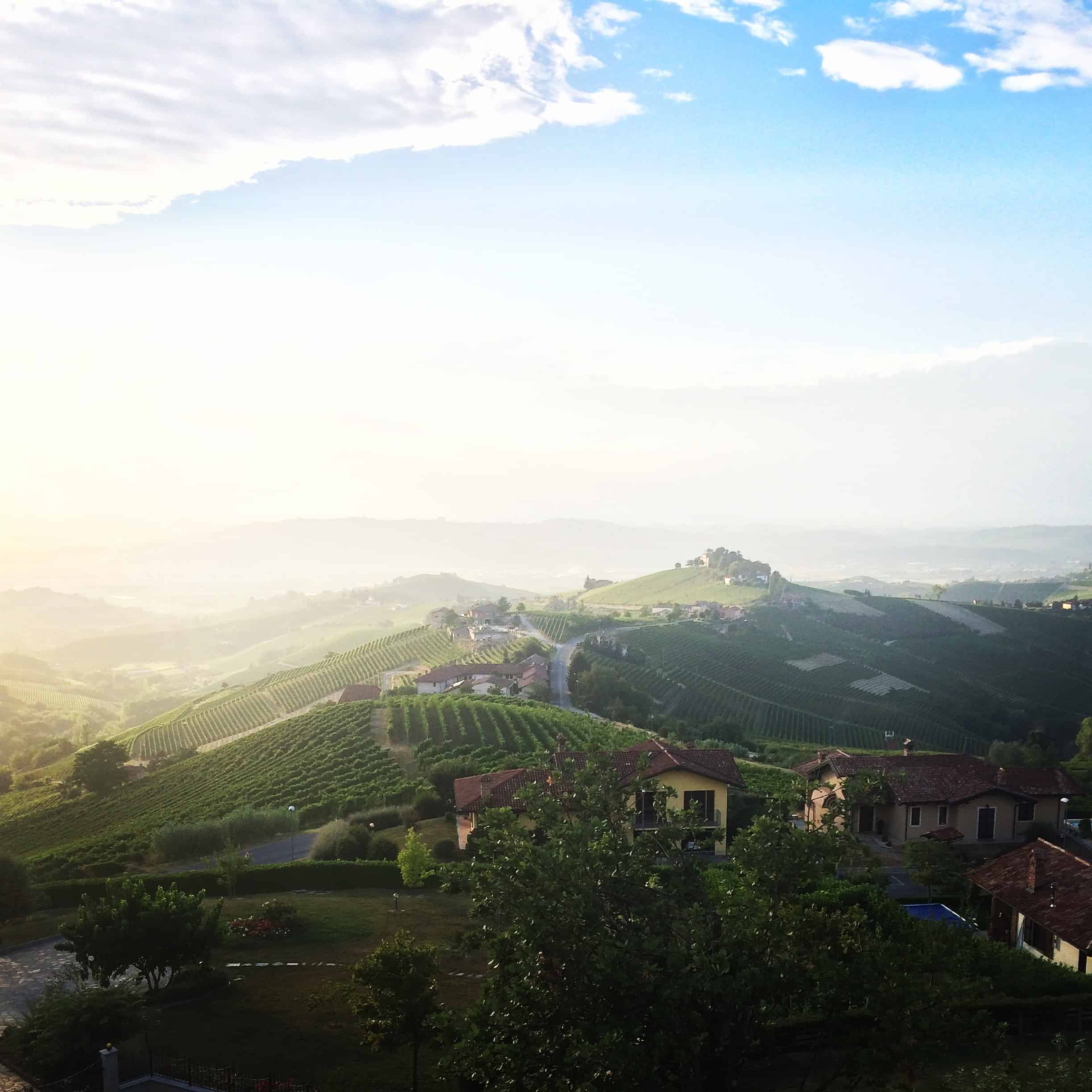 By i Piemonte rödvin