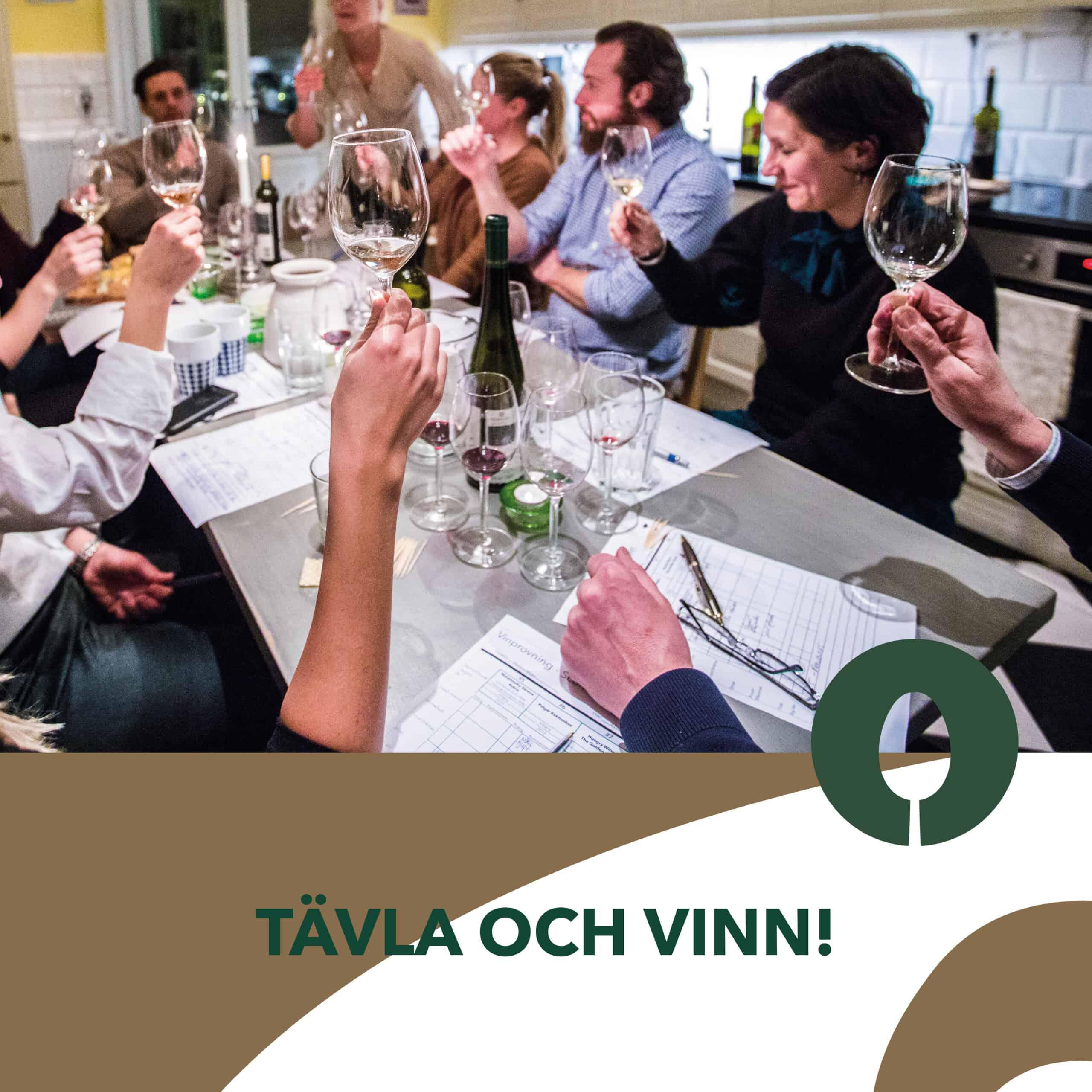 Tävling – vinn exklusiv hemmavinprovning